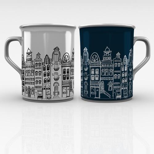 Modern mug design