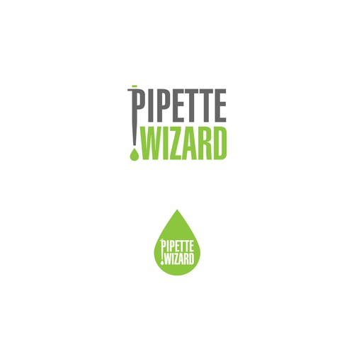 Logo concept for Pipette Wizzard