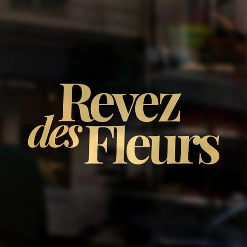 Logo concept for Revez des Fleurs