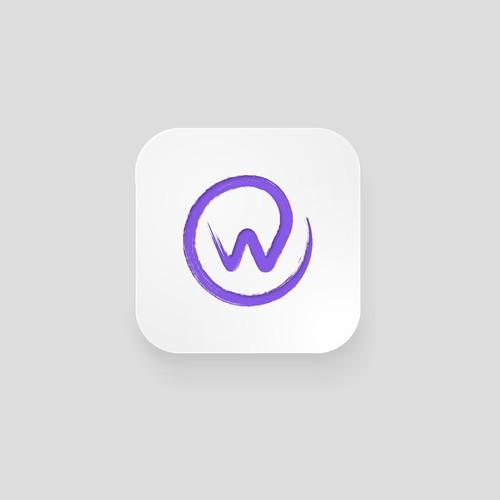 Wabisabi style logo for app
