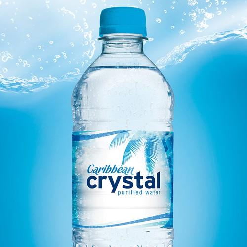 Caribbean Crystal | Purified Water | Logo Design