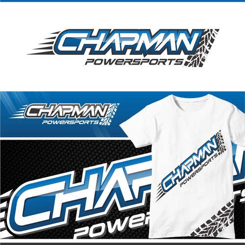Logo for Chapman PowerSports is a ATV bus