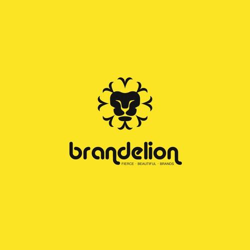 Logo for Brandelion agency