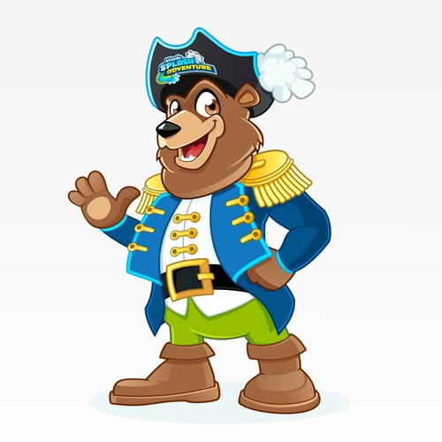 "Brand Mascot for ""Atlantic Splash Adventure"" Water Park"