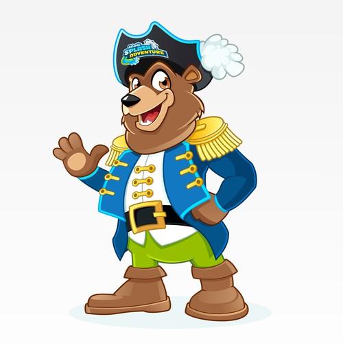 "Brand Mascot for ""Atlantic Splash Adventure"" Water Park"