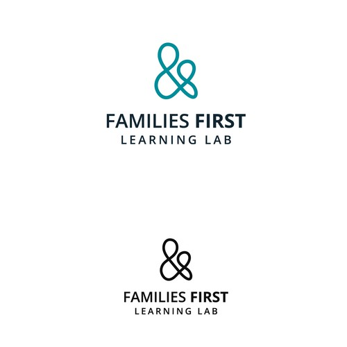 Logo design for Families First.