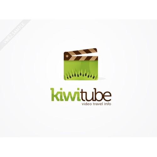 Logo concept for KiwiTube
