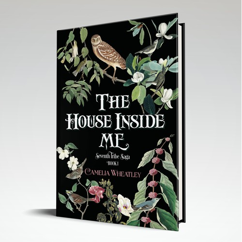 A detailed, lush cover proposal for a fiction book