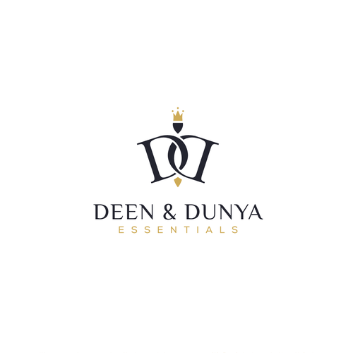 Concept logo for deen and dunya