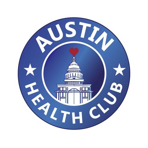 Logo design for Austin health club