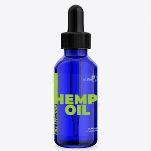 Hemp Oil | Packaging Design