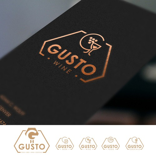 Logo for Gusto - multy-propose company