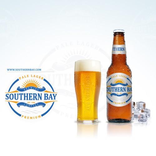 New beer brand logo