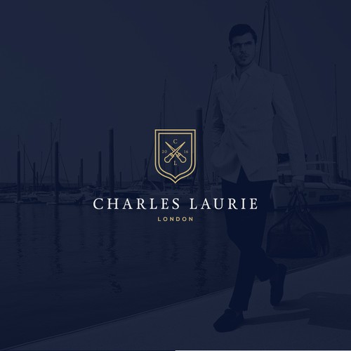 Luxury logo for Charles Laurie