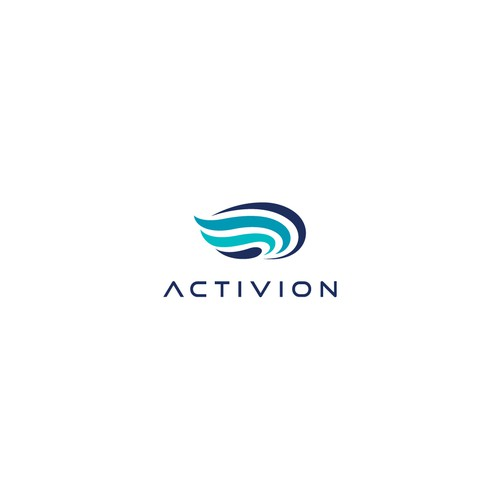 A Logo That Links Creativity with Movement