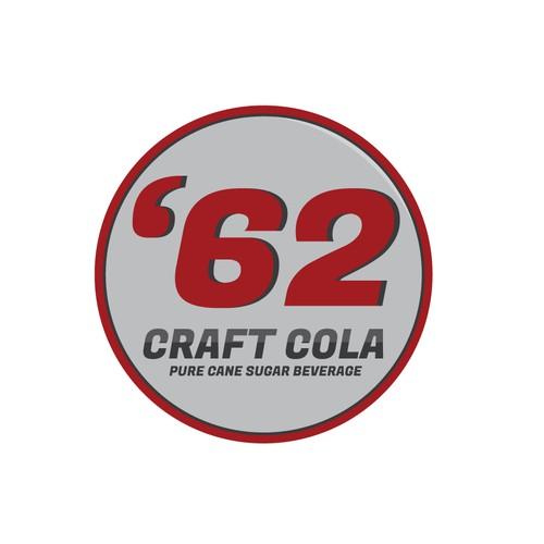Logo for a cola company