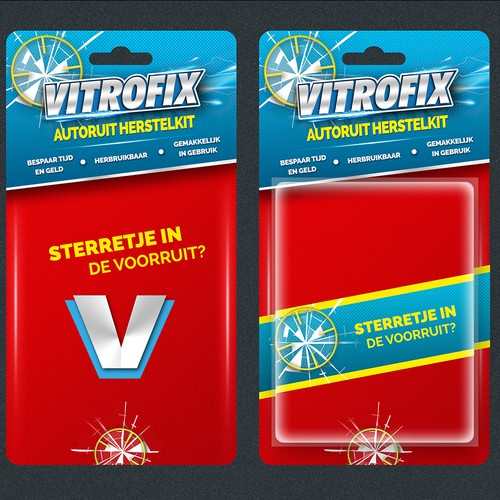 Vitrofix: new packaging design..