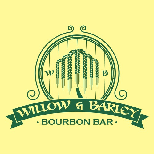 Logo de bar Willow and Barley
