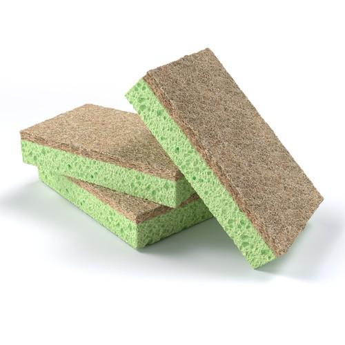 Kitchen sponge 3d visualization for the amazon listing