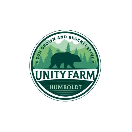 Unity Farm Logo Design