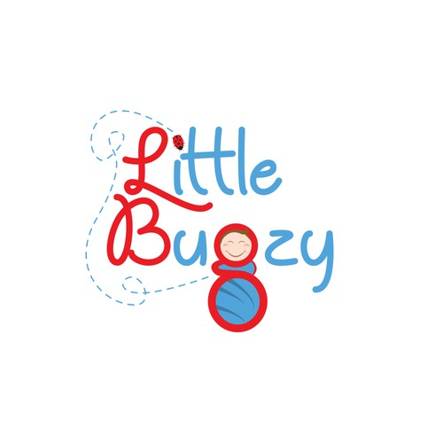 Playful logo for baby products