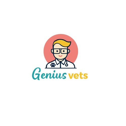 genius vets logo