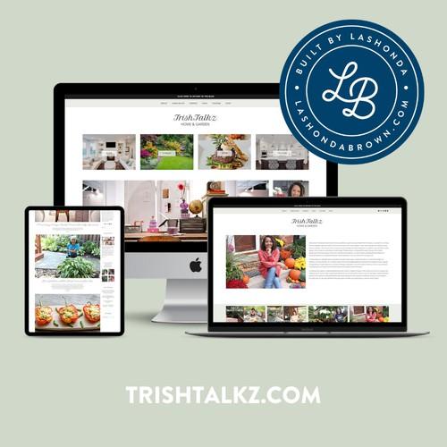 TRISH TALKZ   Blogger