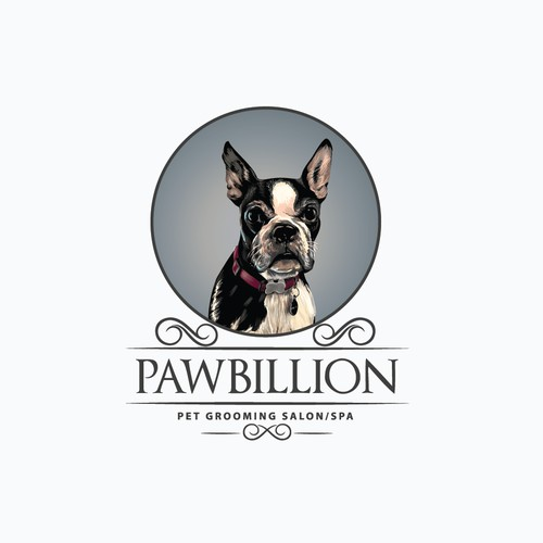 illustrative logo of pawbillion