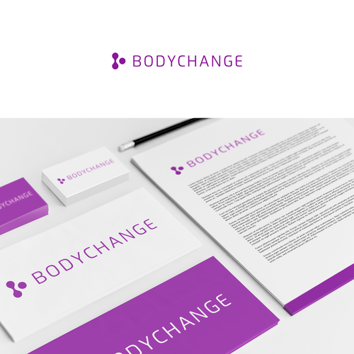 Simple logo for weight loss and fitness company