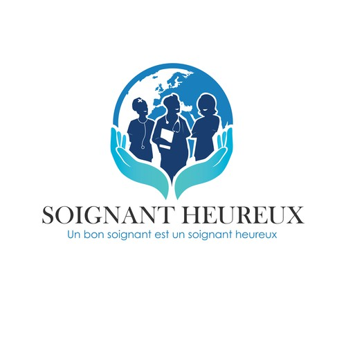 Soignant Heureux (Which means Happy Medical Staff in French)