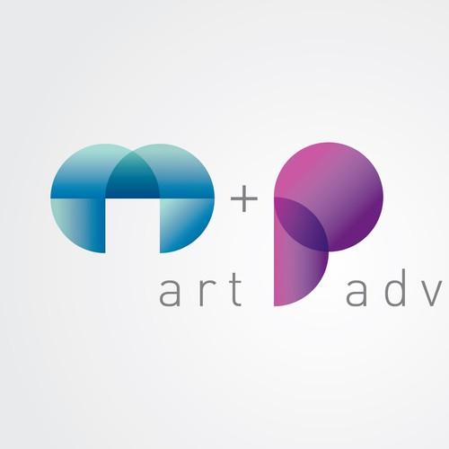 Modern Art Consultant Logo