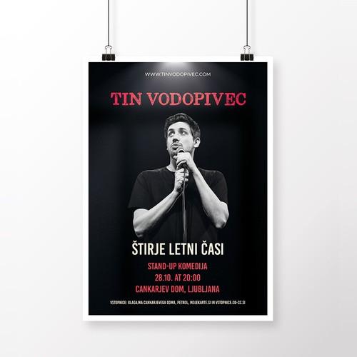 Poster Tin Vodopivec