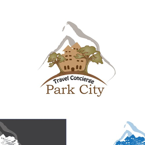Create the next logo for Park City Travel Concierge