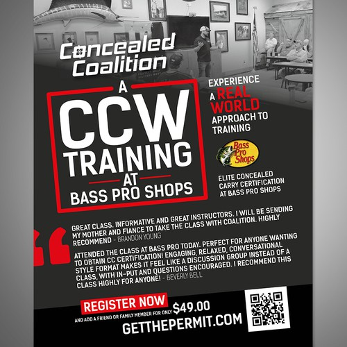 CCW Training Flyer