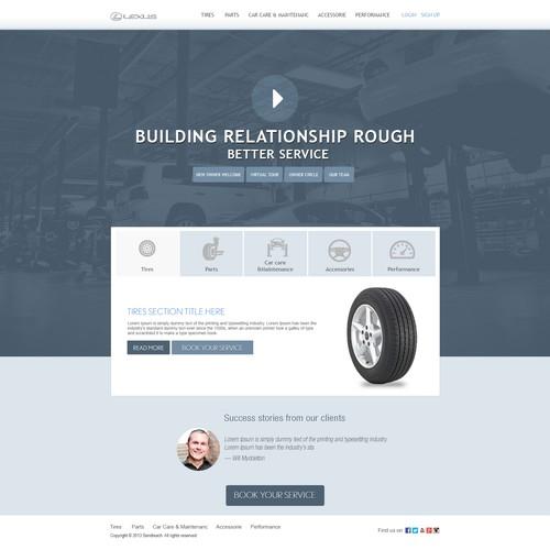 Lexus Of Orlando needs a new website design