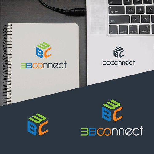 Logo Design for 3B Connect