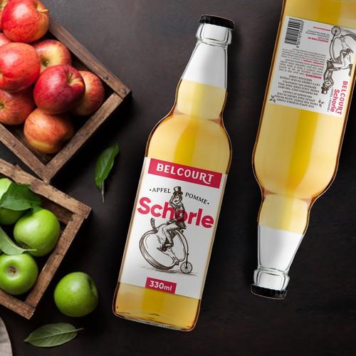 Belcourt Apple Schorle- Cider