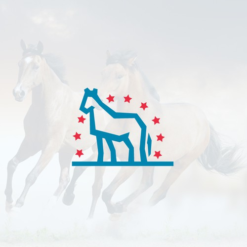 Logo for Sweatbeau Horses