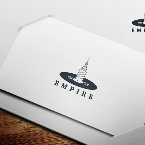 Create a captivating design for a Record Label