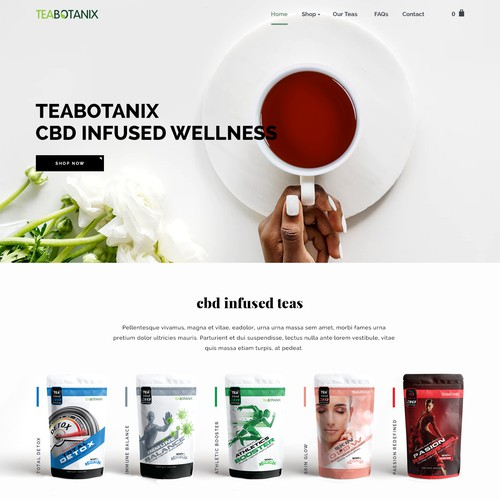 TeaBotanix CBD Infused Tea