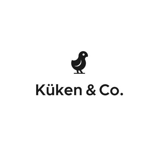 Logo for a baby pillow with a brand recognition