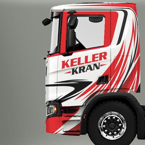 Keller Kran  Truck
