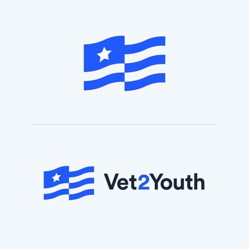Vet2Youth Logo Design