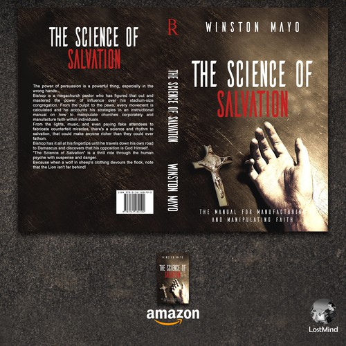 The Science Of Salvation Book Cover Design