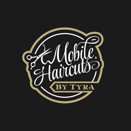 lettering art baber logo