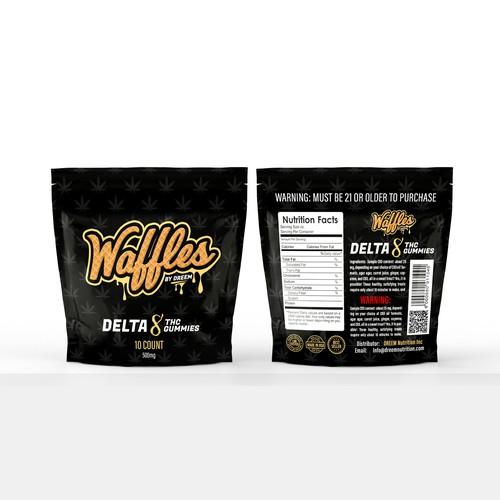waffles label