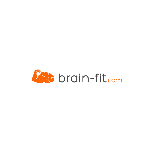 Logo for the website, that offers simple online brain games and riddles.