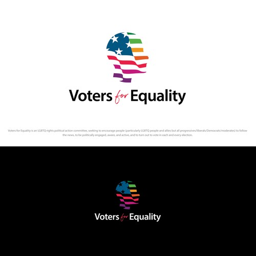 Voters for  Equality logo design