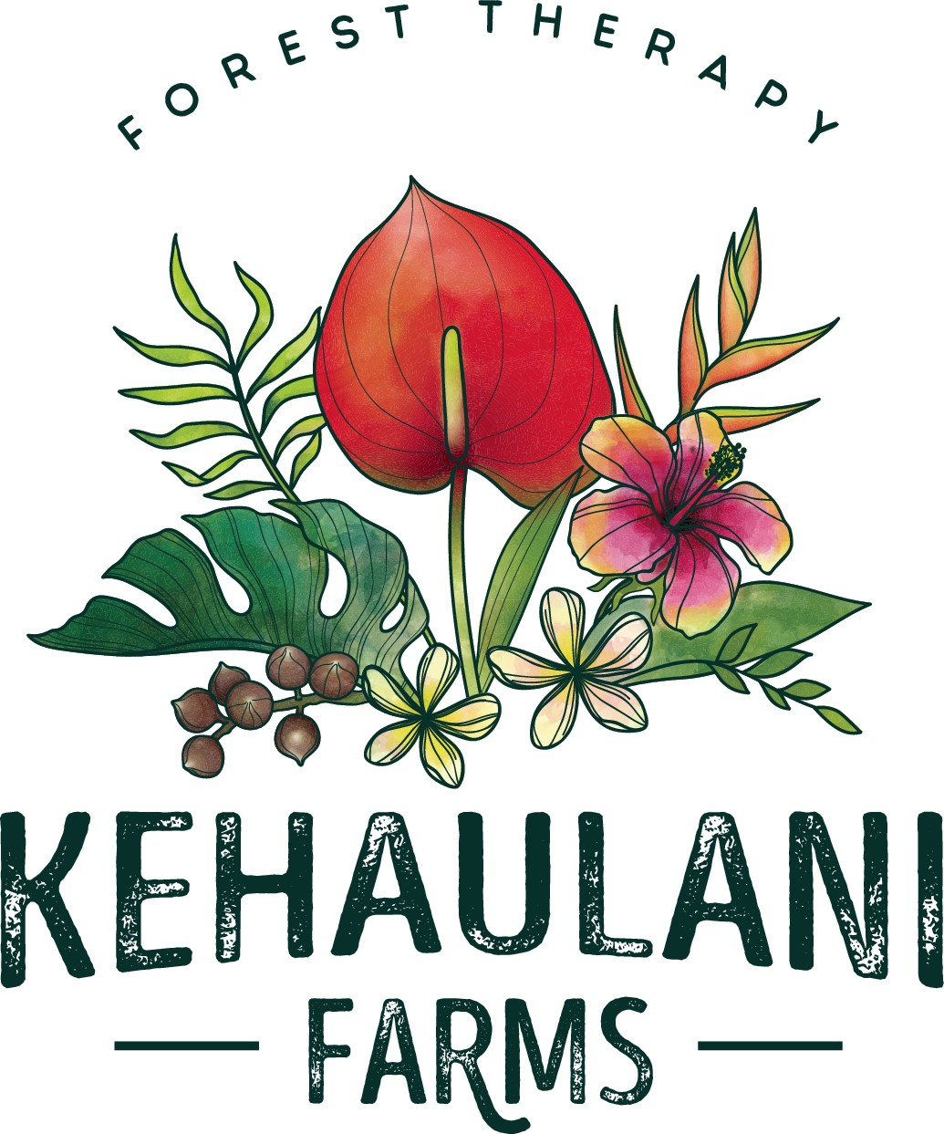 Hawaiian Forest Therapy Guide and Organic Farmer needs a logo
