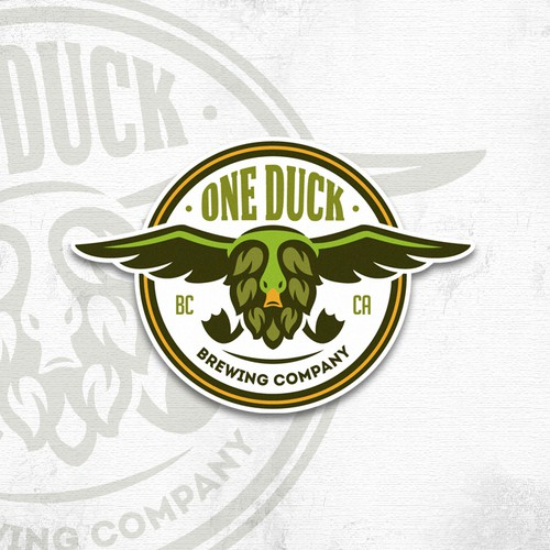 One Duck Brewing Company.
